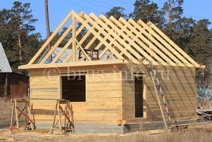 Дом из деревянного бруса