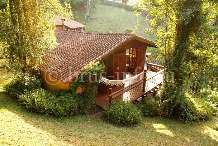 Дом для отдыха с террасой