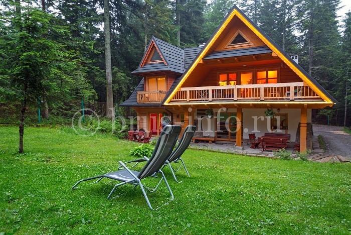 Дом для отдыха из бруса