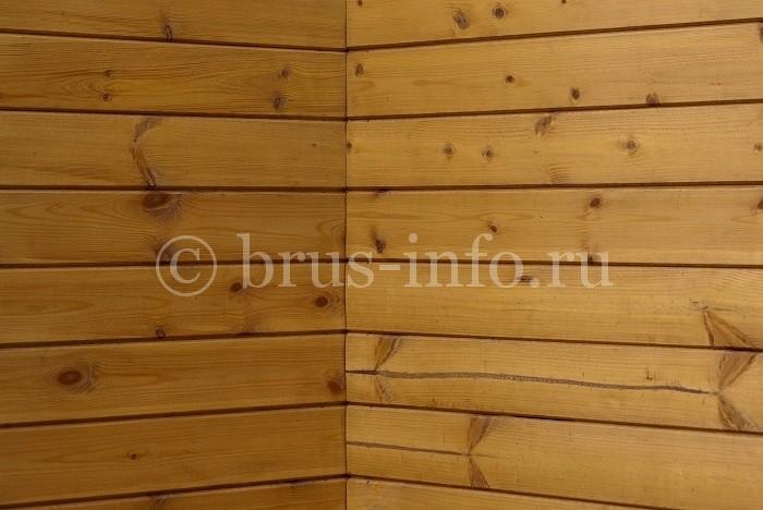 Стык стен в деревянном доме