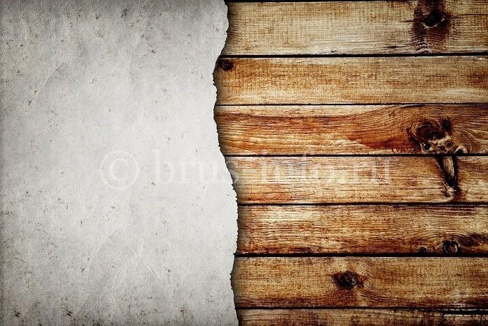 Оштукатуренная стена из бруса
