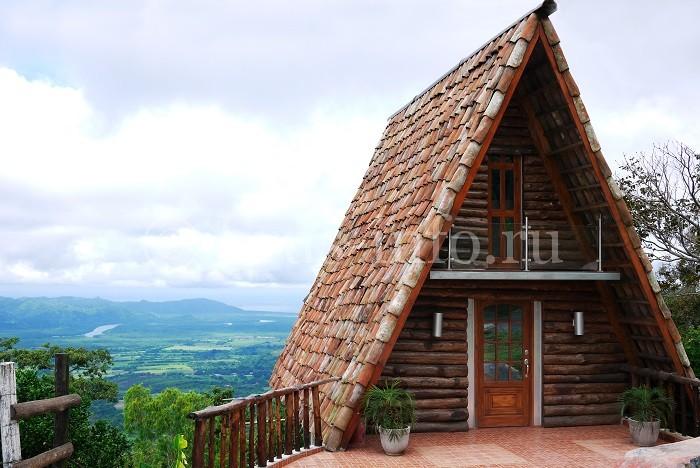 Покрытие деревянной крыши черепицей