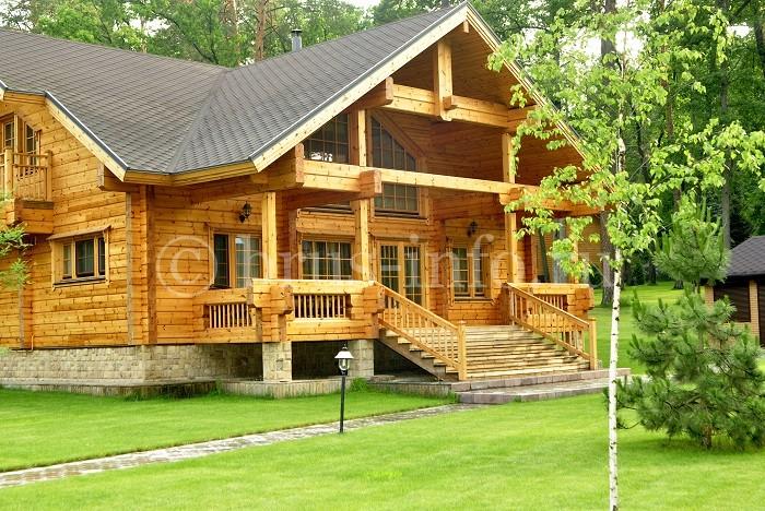 Утепленный дом из профилированного бруса