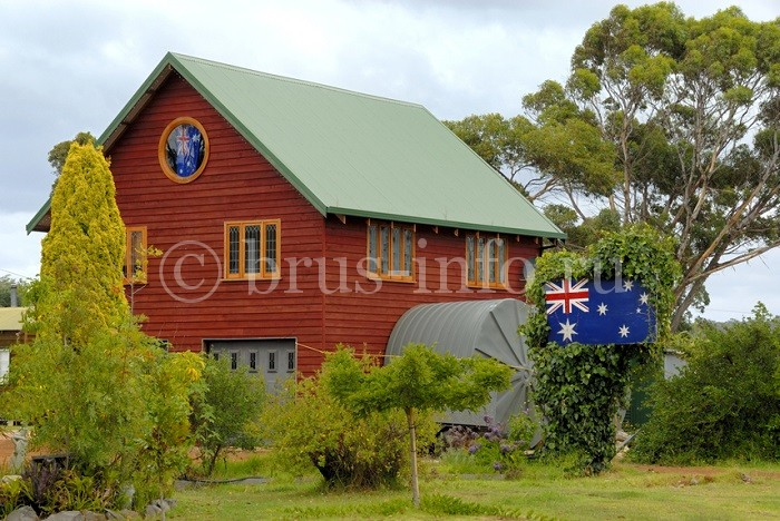 Европейский дом из бруса