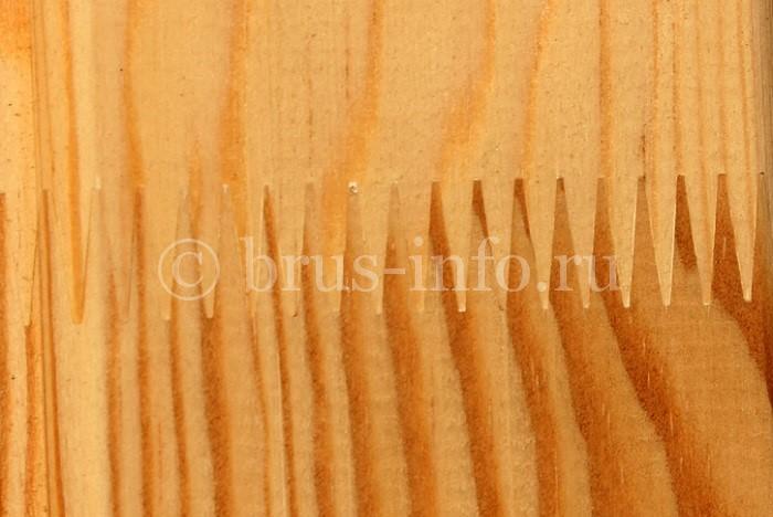Соединение ламелей в клёном брусе