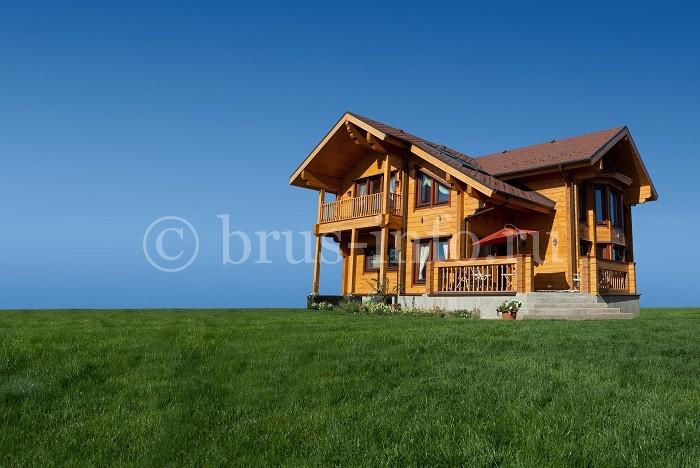 Современный финский дом из бруса