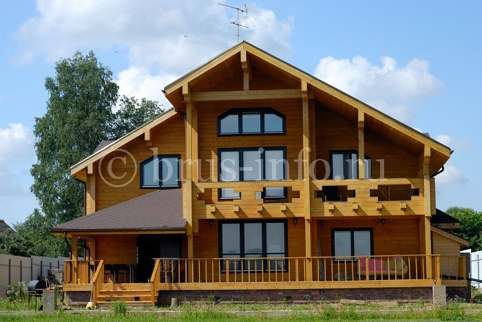 Дом, построенный по финской технологии