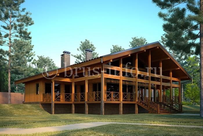 Просторный дом для отдыха