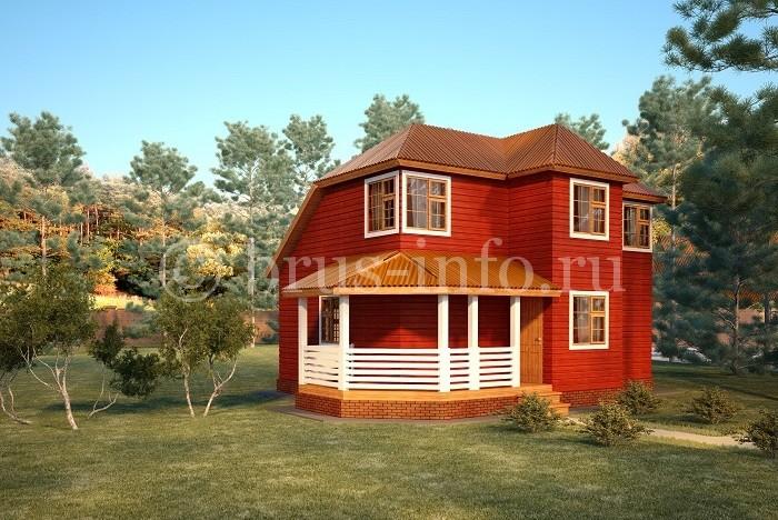 Внешняя покраска дома
