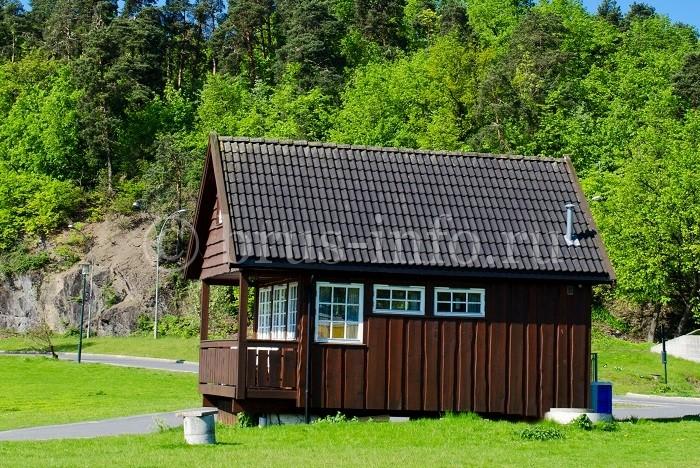 Норвежский деревянный дом