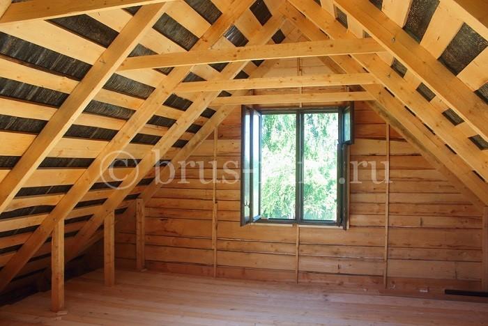 Стропильная система деревянной крыши