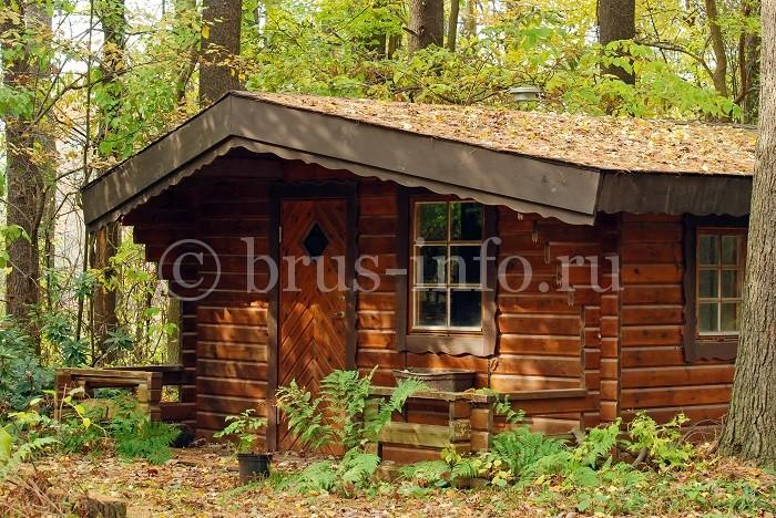 Брусовой малогабаритный домик