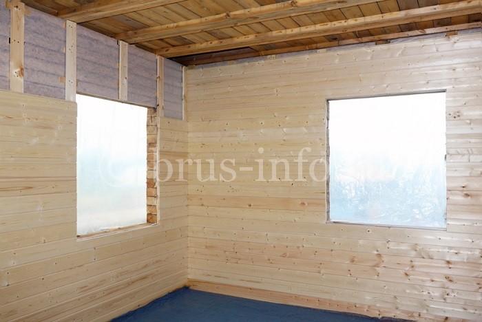 Проемы под окна в деревянном доме