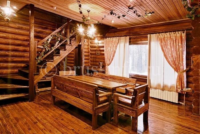 Покрытие пола в деревянном доме массивной доской