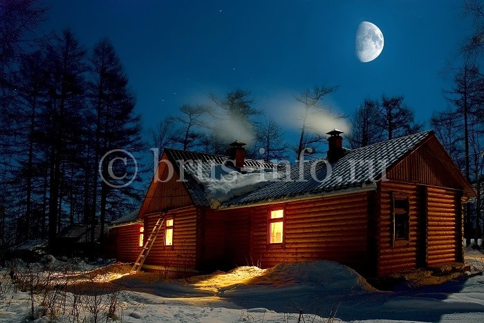 Утепленный дом из бревна