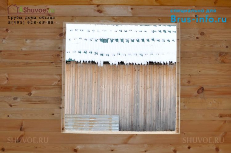 Обсада и окосячка ставим двери окна в деревянном доме